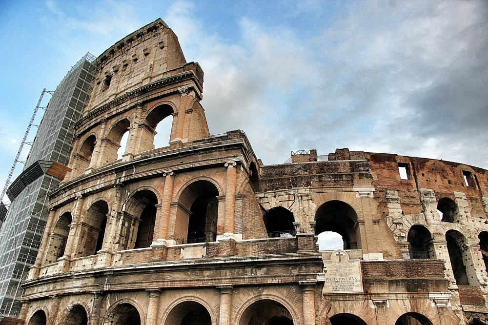 The Colosseum is in a constant state of repair