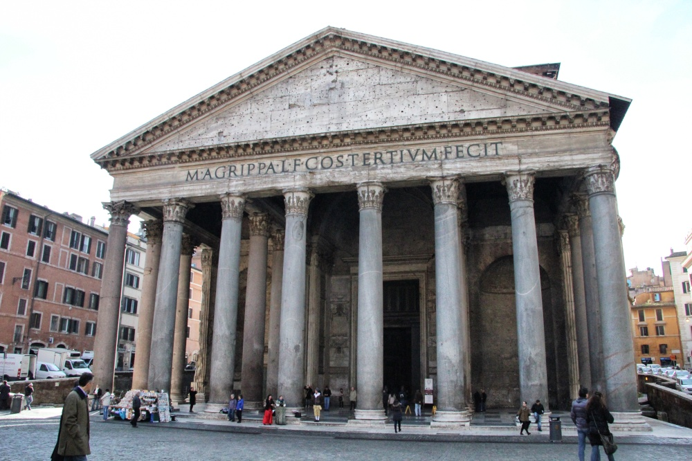 The Pantheon is the oldest church in Rome