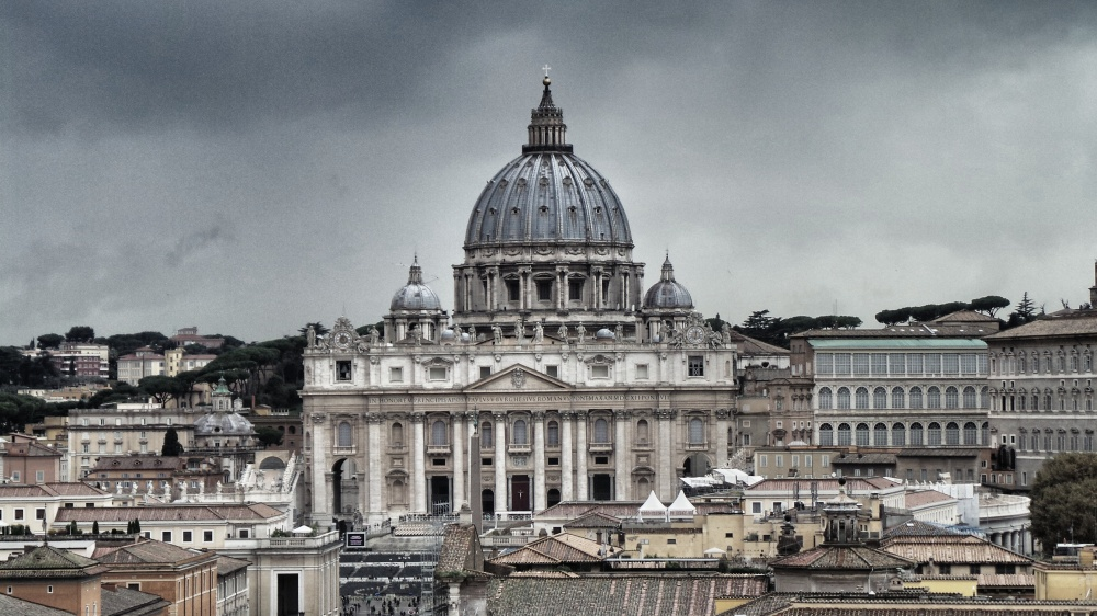 St Peter's Square is the heart of Vatican City